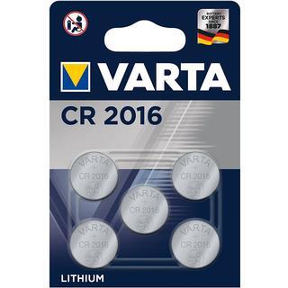 Varta CR2016 5-pack