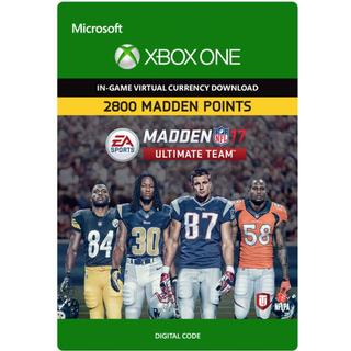 Electronic Arts Madden NFL 17 - 2800 Points - Xbox One