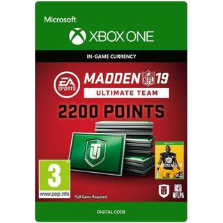 Electronic Arts Madden NFL 19 - 2200 Points - Xbox One