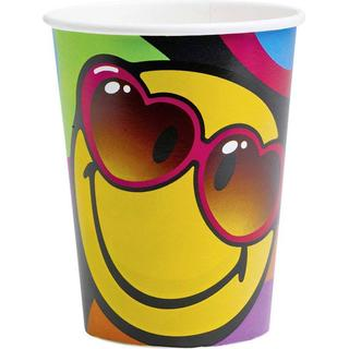 Amscan Paper Cup Smiley Express Yourself 266ml 8-pack