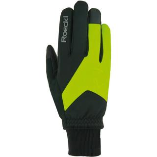 Roeckl Rieden Gloves Unisex - Black/Yellow