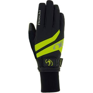 Roeckl Rocca GTX Gloves Unisex - Black/Yellow