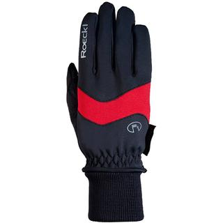 Roeckl Palacino Gloves Unisex - Black/Red