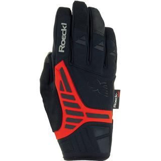 Roeckl Reintal Gloves Unisex - Black/Fiesta Red