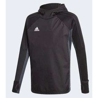 Adidas Tiro 17 Warm T-shirt Kids - Black/Dark Grey/White