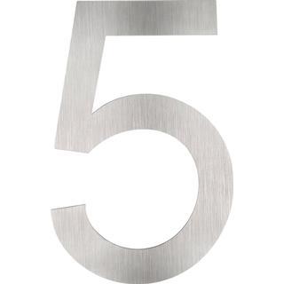 tectake Husnummer i rustfrit stål 5