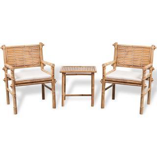 vidaXL 41892 Loungesæt, 1 borde inkl. 2 stole