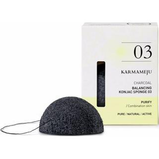 Karmameju Konjac Sponge 03 Charcoal