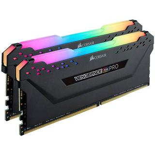 Corsair Vengeance RGB LED Pro Black DDR4 2666MHz 2X16GB (CMW32GX4M2A2666C16)
