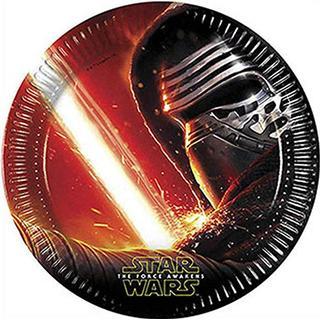 Unique Party Plates Star Wars 8-pack