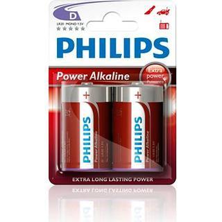 Philips LR20P2B 2-pack