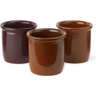 Knabstrup Syltekrukker Opbevaringsglas 3 stk 0.3 L