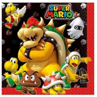 Amscan Napkins Super Mario