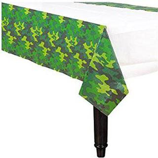 Amscan Table Cloth Camouflage