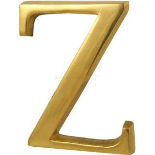 M.Marcus Heritage Brass Alphabet Z (C1565 2 Z-PB)