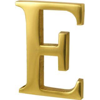 M.Marcus Heritage Brass Alphabet E (C1565 2 E-PB)