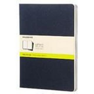 Moleskine Plain Cahier Xl - Navy Cover (3 Set)