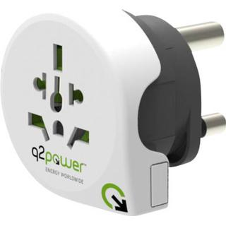 q2power World To Europe With Usb