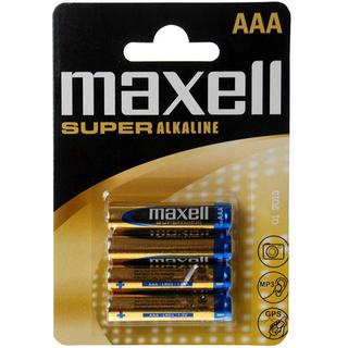 Maxell AAA Super Alkaline Compatible 4-pack