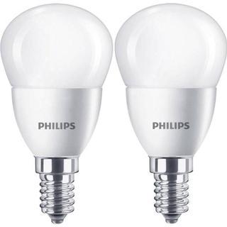 Philips Lustre LED Lamps 5.5W E14 2-pack