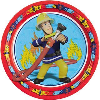 Amscan Plates Fireman Sam 8-pack