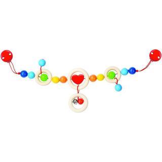 Heimess Pram Chain Heart with Clips