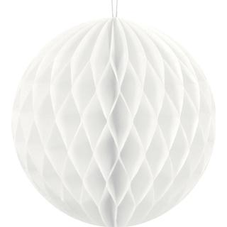 Party Deco Hanging Ball White