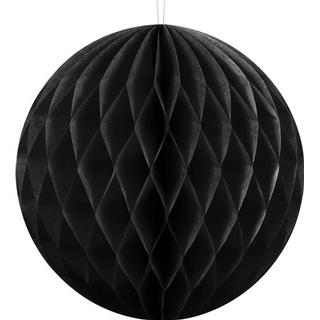 Party Deco Hanging Ball Black