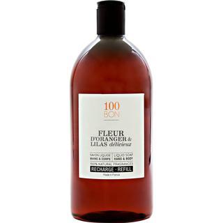 100BON Liquid Soap Fleur D'Oranger & Lilas Delicieux 1000ml