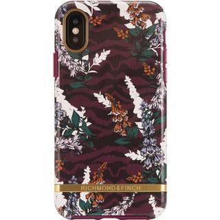 Richmond & Finch Floral Zebra Case (iPhone XS Max)