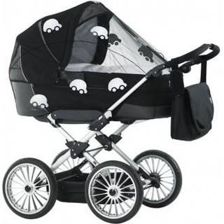 BabyDan Universal Mosquito Net Black with Reflex Cars
