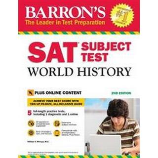 Barron's SAT Subject Test World History with Online Tests (Hæfte, 2017)