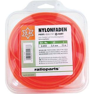 Ratioparts Nylon Line Hex 2.4mm x 15m