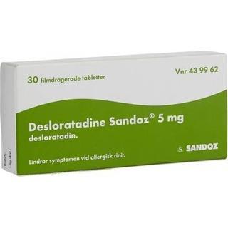 Desloratadine Sandoz 5mg 30stk
