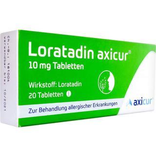 Loratadin Axicur 10mg 20stk