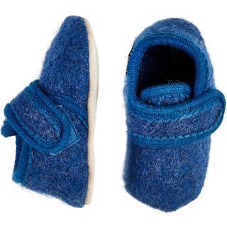 CeLaVi Baby Uld Sko - Blue Melange