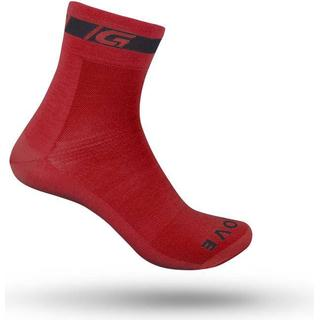 Gripgrab Classic Regular Cut Sock - Red