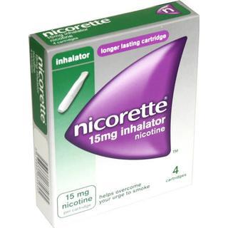 Nicorette 15mg 4stk