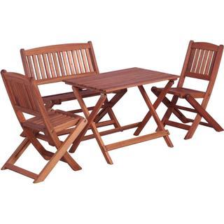 vidaXL 45585 Havemøbelsæt, 1 borde inkl. 2 stole & 1 sofaer