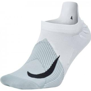 Nike Elite Lightweight No-Show Socks Unisex - White/Wolf Grey/Cool Grey