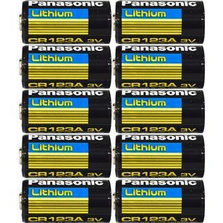 Panasonic CR123A 10-pack