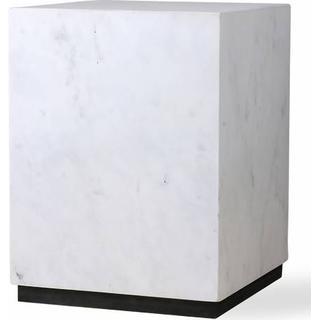 HK Living Block Marble 28cm Sofabord