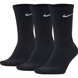 Nike Value Cotton Crew Training Socks 3-pack Men - Black/White