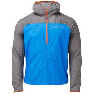 OMM Halo Smock Running Jacket Men - Blue/Light Grey