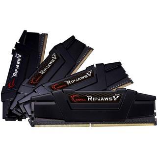 G.Skill Ripjaws V Black DDR4 3600MHz 4x16GB (F4-3600C18Q-64GVK)