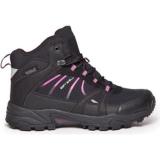 Polecat Waterproof Warm Lined Boots - Black/Fuchsia