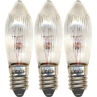 Star Trading 304-55 Incandescent Lamps 3W E10 3-pack