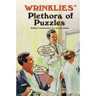 Wrinklies Plethora of Puzzles: Brilliant brainteasers... (Bog, Hardback)