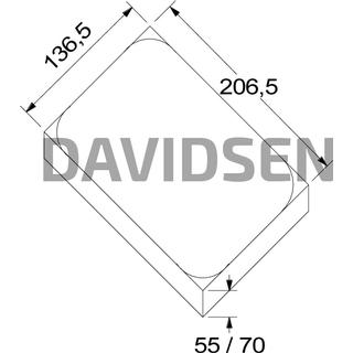 Rbr Herregårdssten 110030 140x70x210mm