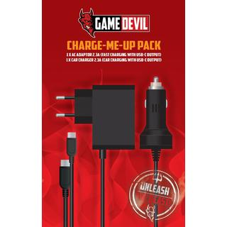 GameDevil Switch Charge-Me-Up Charger - Black